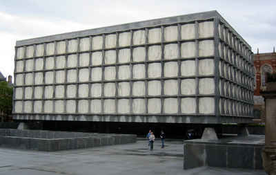 Connecticut Public Colleges and Universities - Yale: Beinecke Library