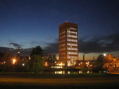 Massachusetts Public Colleges and Universities - UMass Amherst W.E.B. Dubois Library