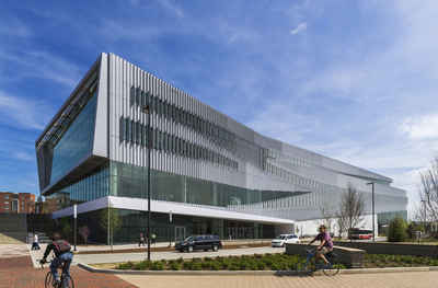 North Carolina Public Colleges and Universities - North Carolina State University, James B Hunt Jr Library