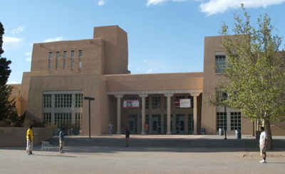 New Mexico Public Colleges and Universities - University of New Mexico: Zimmerman Library