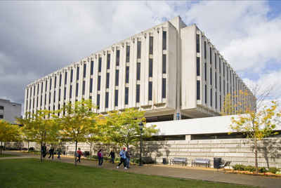 Pennsylvania Public Colleges and Universities - University of Pittsburgh (Pittsburgh) Hillman Library