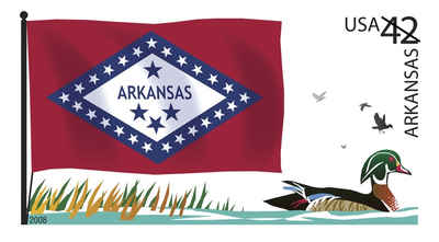 Brief history of Arkansas Counties: Flags of Our Nation