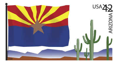 Brief history of Arizona Counties: Flags of Our Nation