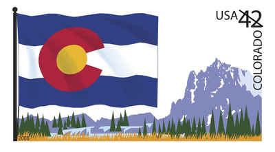 Brief history of Colorado Counties: Flags of Our Nation