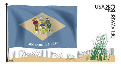 Brief history of Delaware Counties: Flags of Our Nation