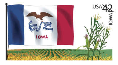 Brief history of Iowa Counties: Flags of Our Nation