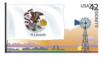 Brief history of Illinois Counties: Flags of Our Nation