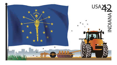 Brief history of Indiana Counties: Flags of Our Nation