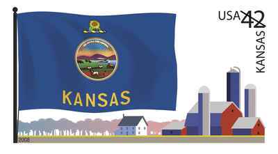 Brief history of Kansas Counties: Flags of Our Nation