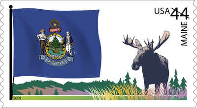 Brief history of Maine Counties: Flags of Our Nation