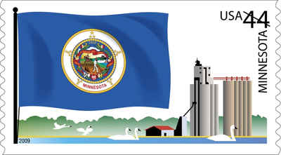 Brief history of Minnersota Counties: Flags of Our Nation