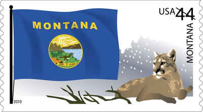 Brief history of Montana Counties: Flags of Our Nation