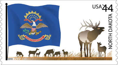 Brief history of North Dakota Counties: Flags of Our Nation
