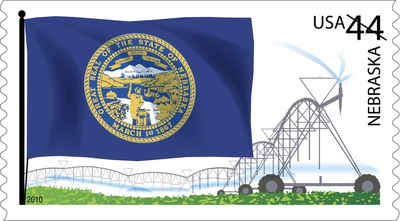 Brief history of Nebraska Counties: Flags of Our Nation