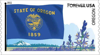Brief history of Oregon Counties: Flags of Our Nation