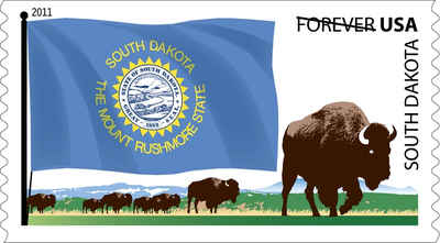 Brief history of South Dakota Counties: Flags of Our Nation