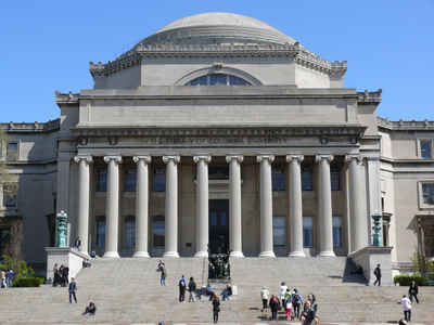 New York Private Colleges and Universities: Columbia University College - Low Memorial Library