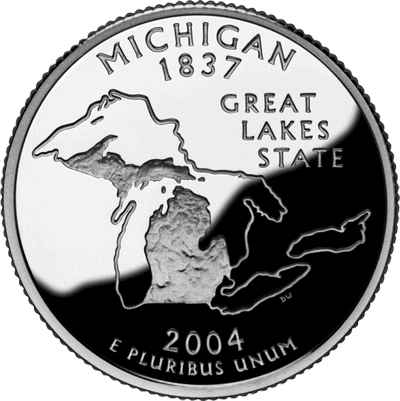 Michigan State Quarter