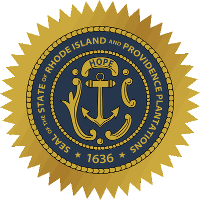 [Coat of arms of Rhode Island]