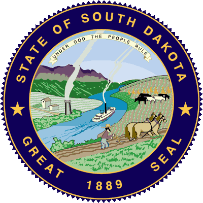 South Dakota State Motto and Seal