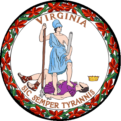 State Motto and Seal of Virginia