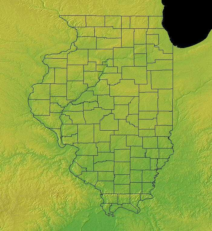 Illinois Geography Illinois Regions And Landforms