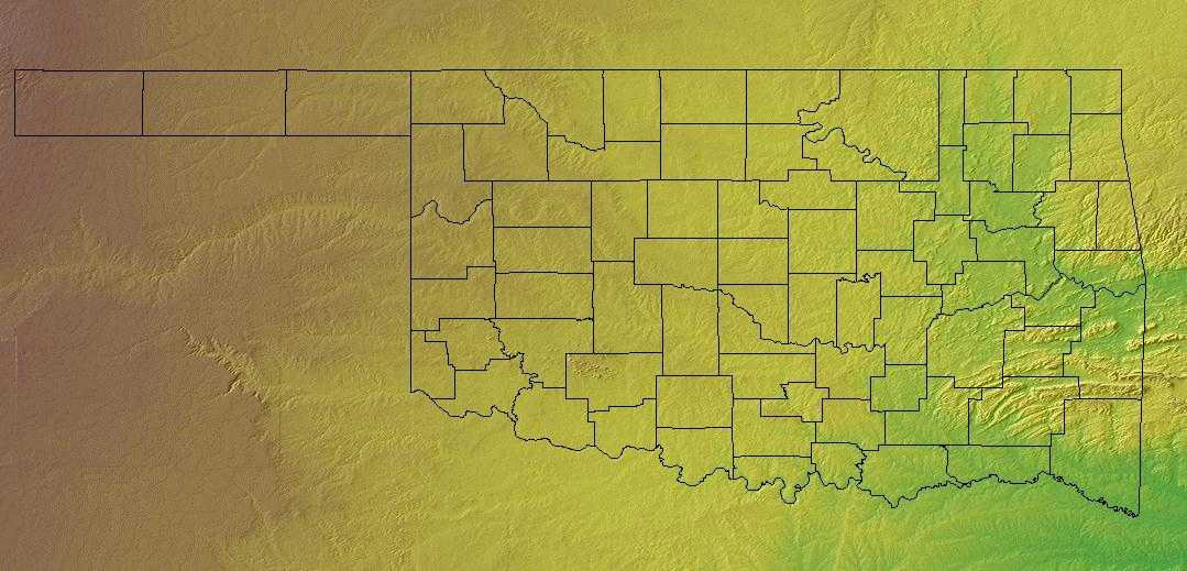 Oklahoma geography oklahoma regions and landforms geography and landforms of oklahoma publicscrutiny Choice Image