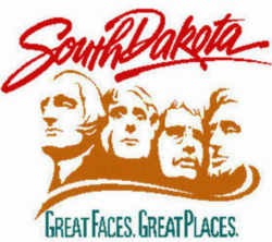 south dakota state slogan great faces great places